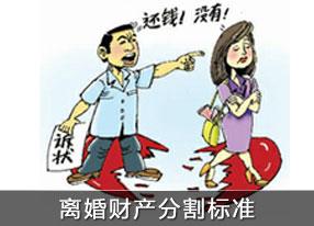 離婚財產分割協議書