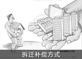 """""""拆迁补偿方式"""